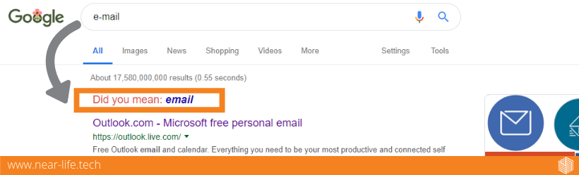 Email google search