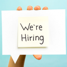 We're Hiring! Marketing and Content Assistant